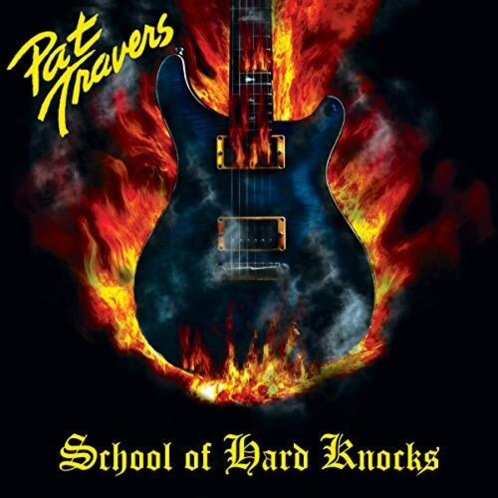 Pat Travers - School Of Hard Knocks [Colored Vinyl] [Limited Edition] (Ylw) [Remastered]