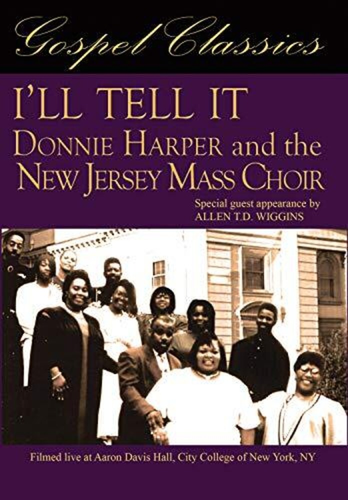 - I'll Tell It: Donnie Harper & The New Jersey Mass