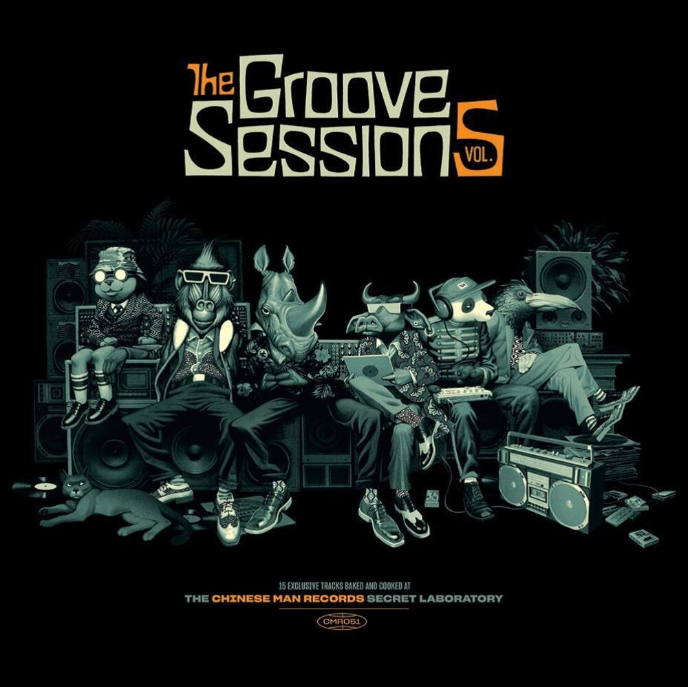 Chinese Man - Groove Sessions V.5