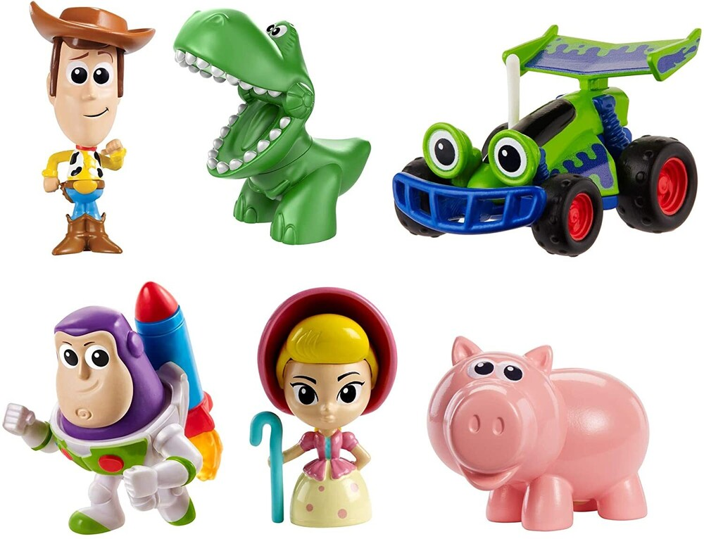 - Mattel - Toy Story 4 Andy's Room Mini Fig 6-Pack (Disney/PIXAR)