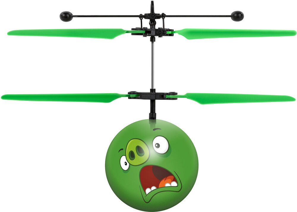 Ufo Flying Ball - Rovio Angry Birds Movie: The Pigs IR UFO Ball Helicopter (Angry Birds)