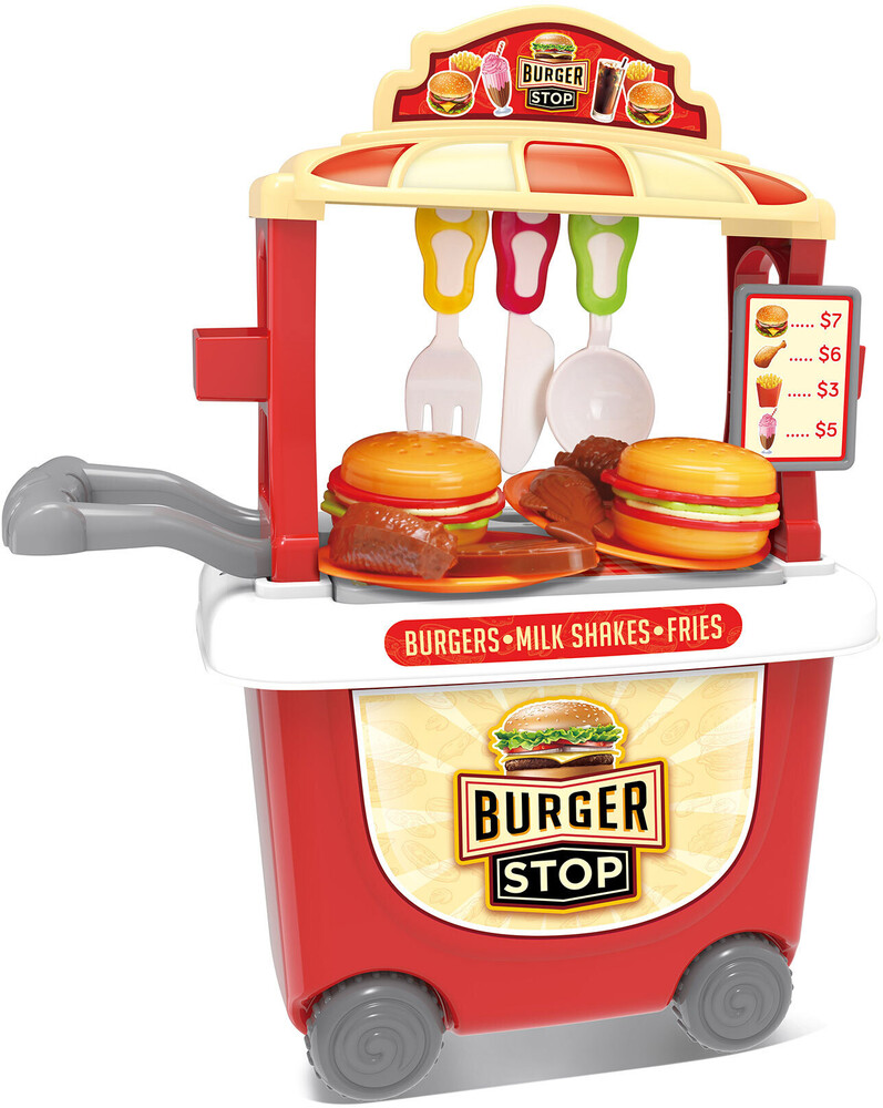 Playsets - Burger Cart Playset