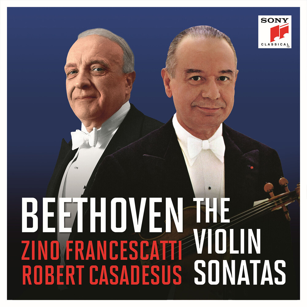 Beethoven / Francescatti / Casadesus - Beethoven Sonatas (Box)