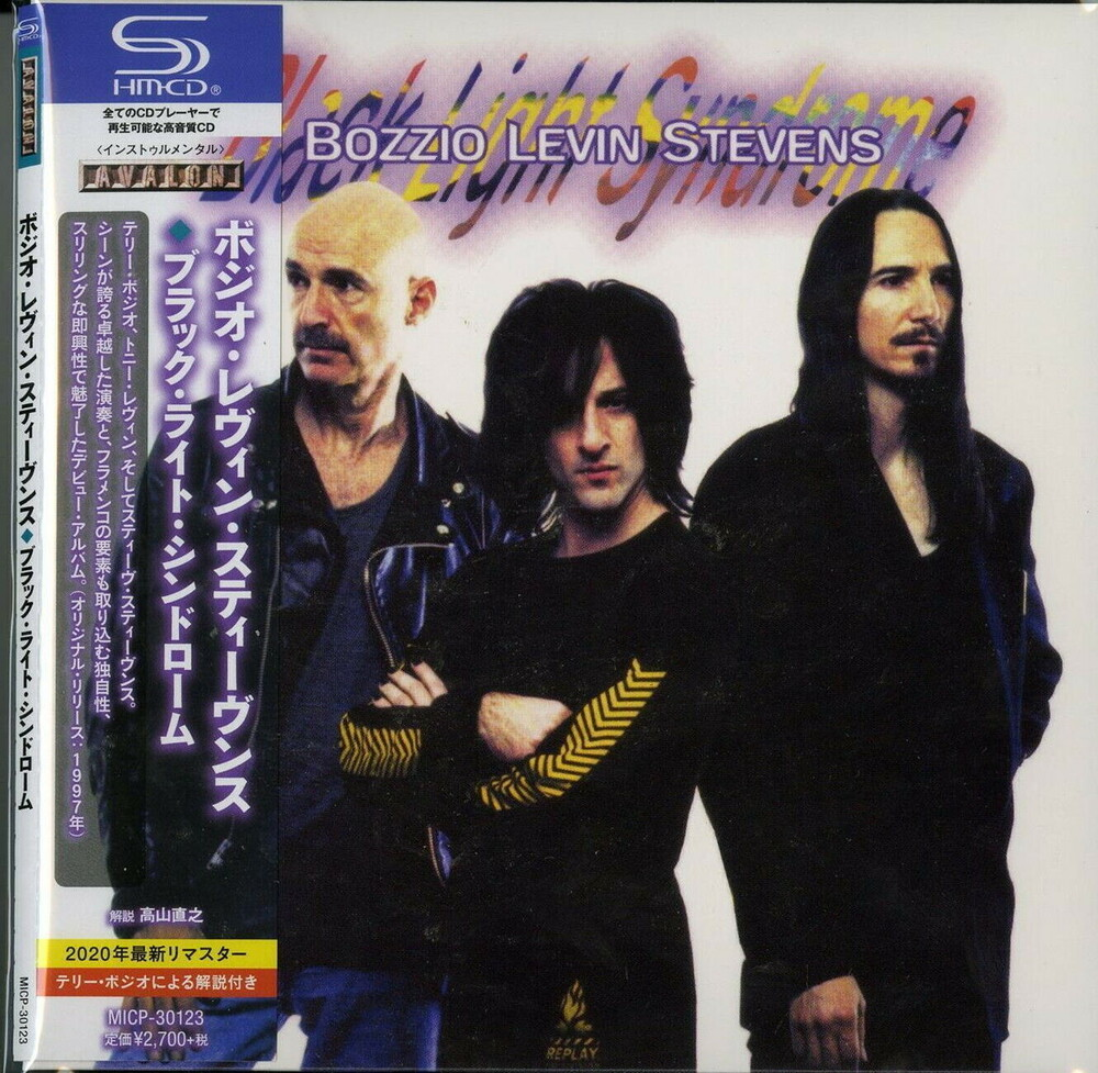 Bozzio Levin Stevens - Black Light Syndrome (Jmlp) (Shm) (Jpn)