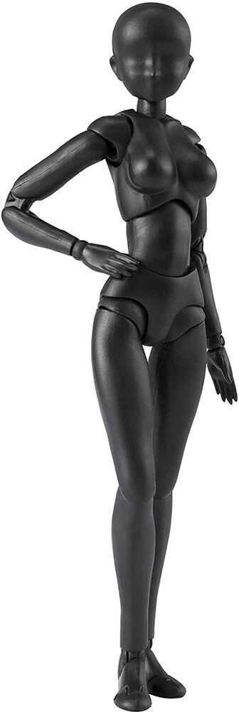 Tamashii Nations - Body-Chan DX Set 2 (Solid Black Color Version), Bandai TamashiiNations S.H. Figuarts