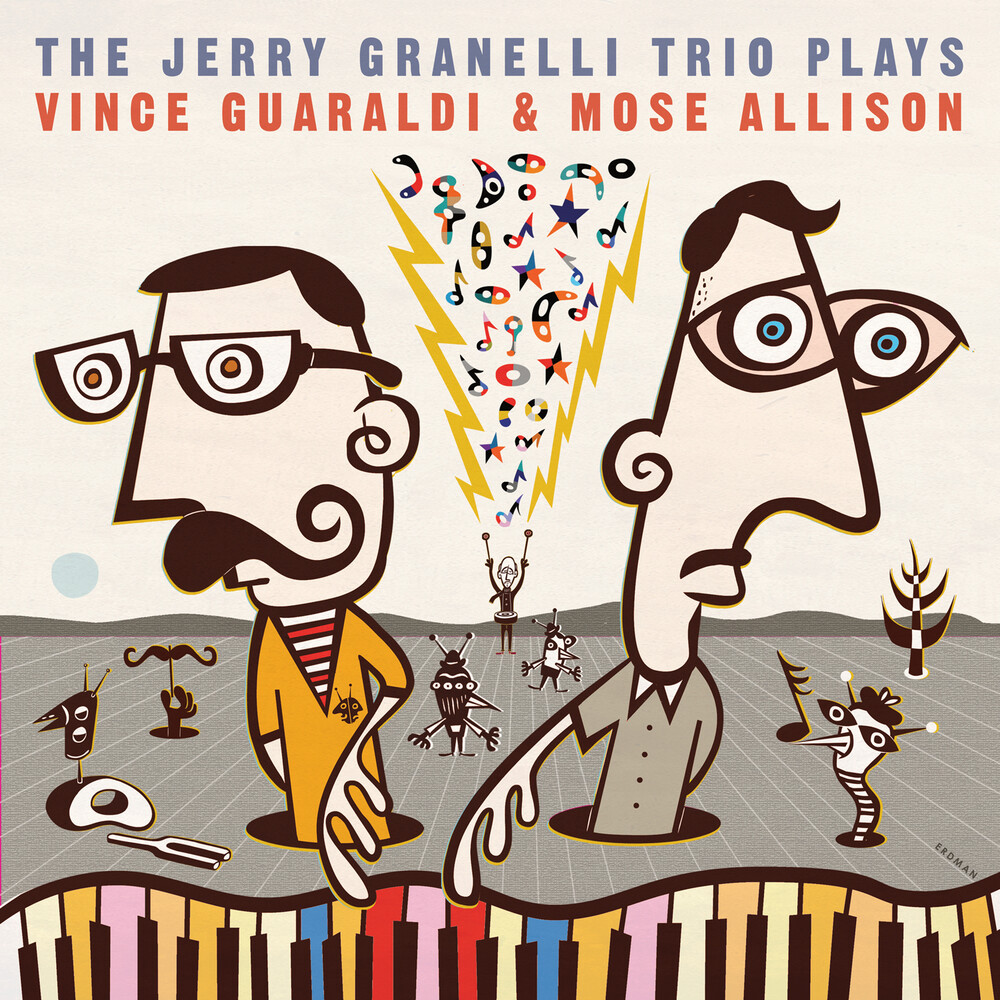 Jerry Granelli - Plays The Music Of Vince Guaraldi & Mose Allison