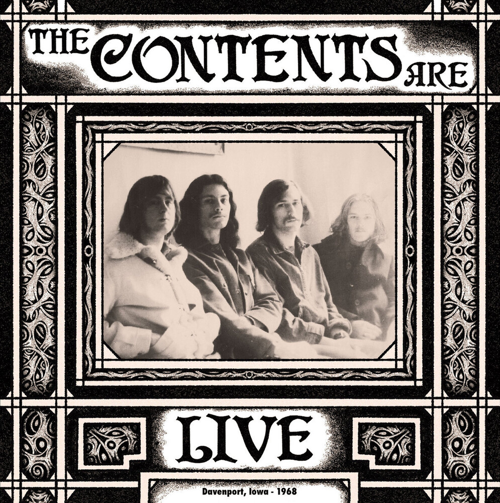 Contents Are - Live Davenport Iowa 1968 [Digipak]