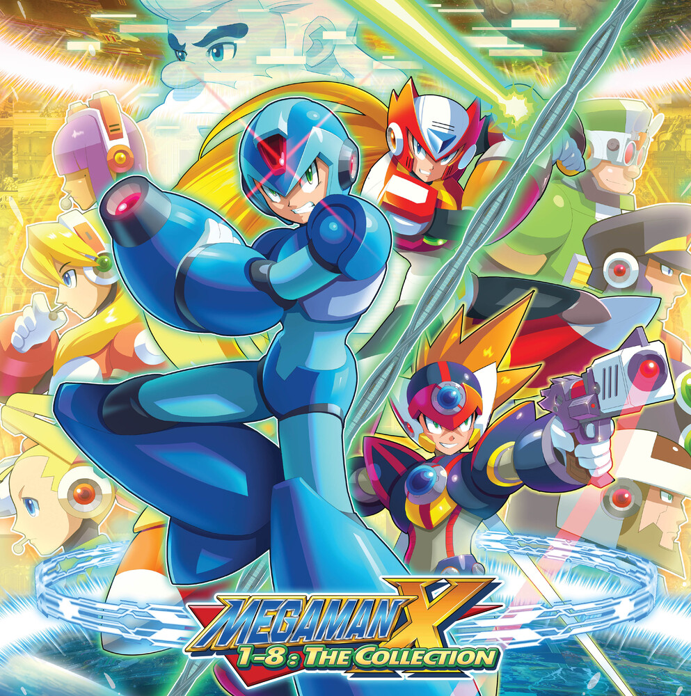 Capcom Sound Team - Mega Man X 1-8: The Collection