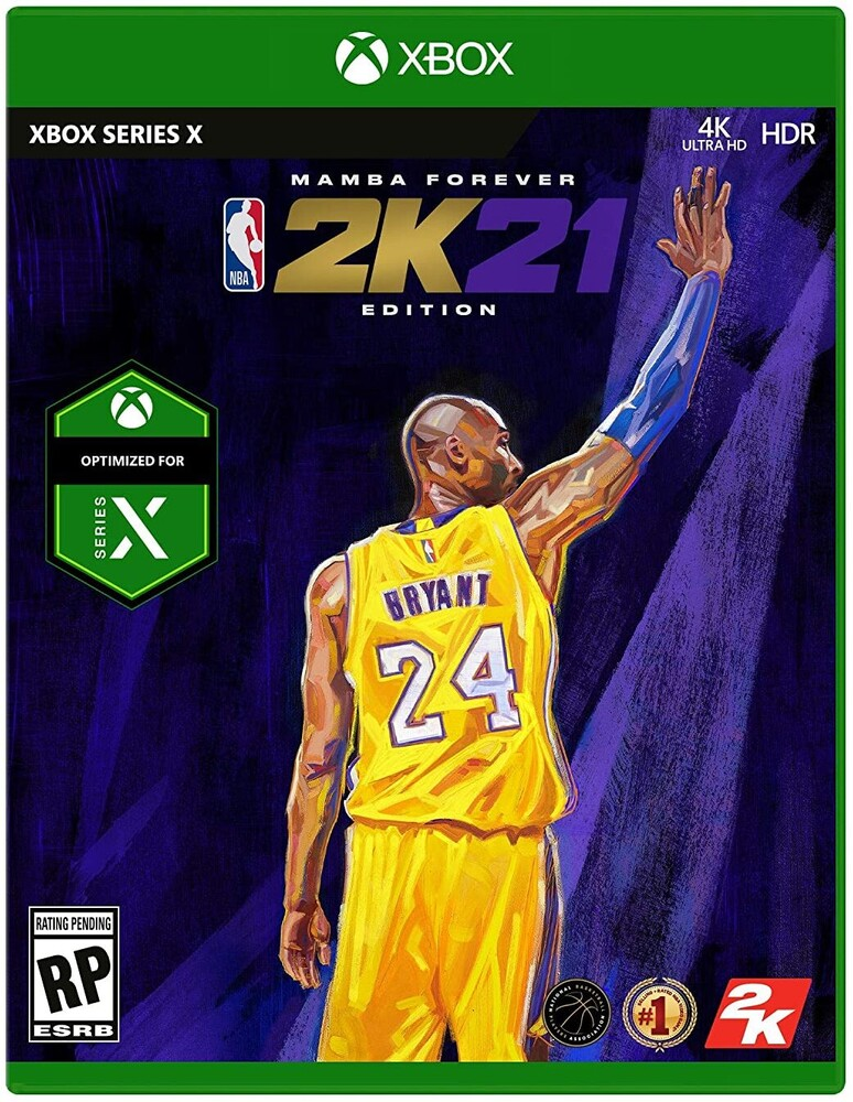 Xbx NBA 2K21 Mamba Forever Edition - Xbx Nba 2k21 Mamba Forever Edition