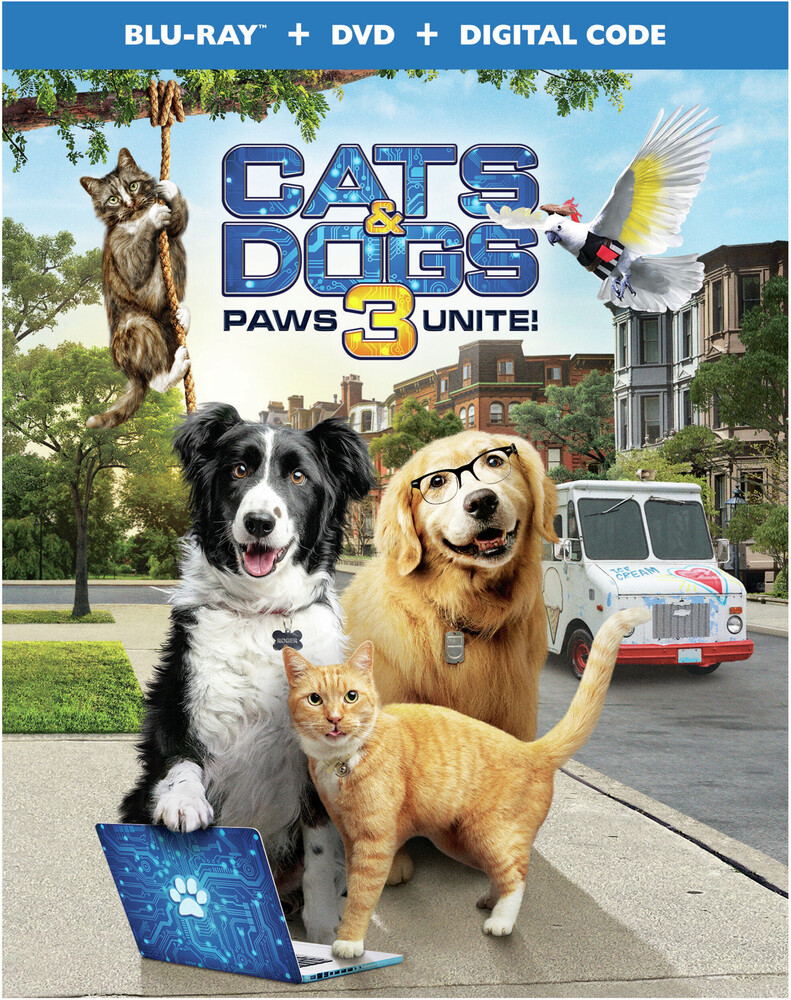 - Cats & Dogs 3: Paws Unite (2pc) (W/Dvd) / (2pk)
