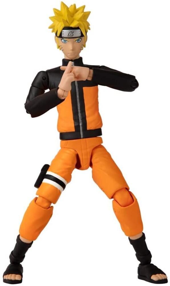 "Anime Heroes - Bandai America - Anime Heroes NARUTO Uzumaki Naruto 6.5"" Action Figure"