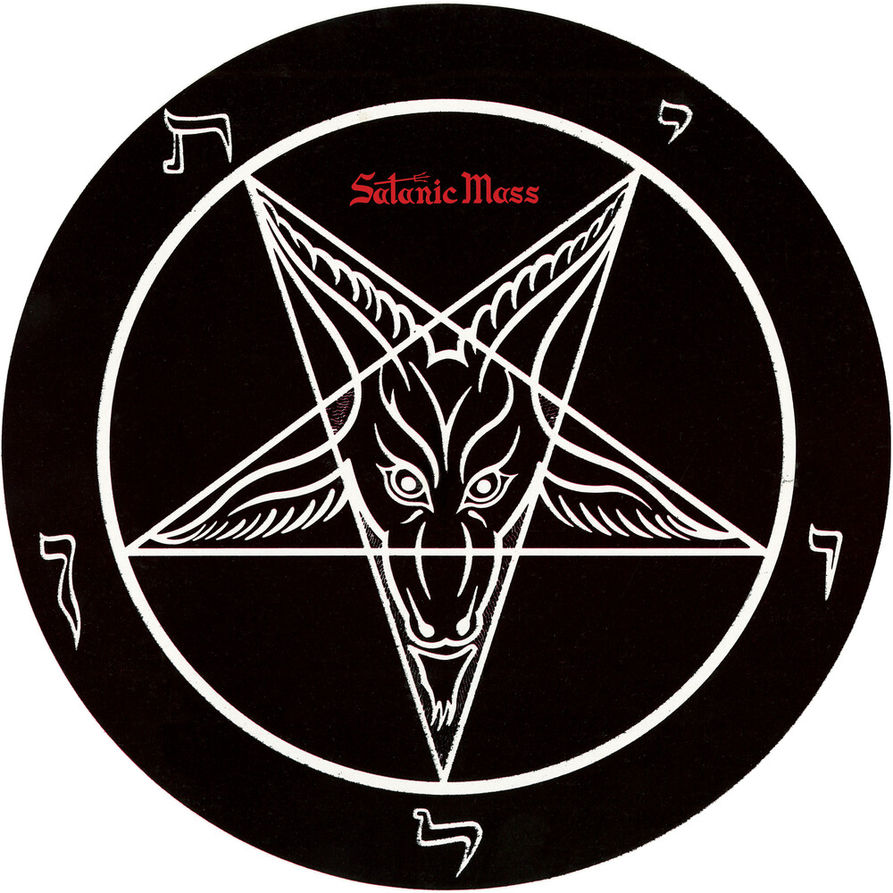 Anton Lavey - Satanic Mass (Picture Disc Vinyl) (Pict)