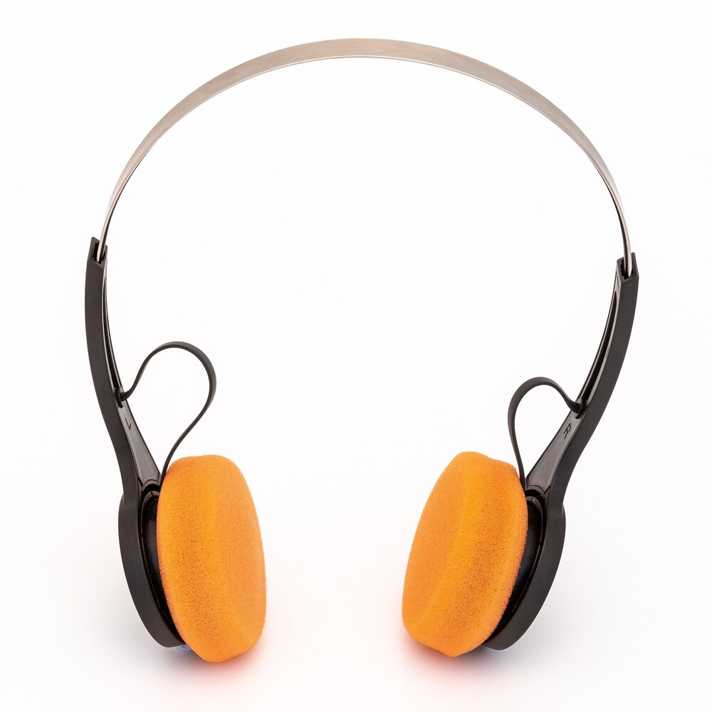 Gpo Hw-Bth Bluetooth Headphones on Ear Blk/Orng - GPO HW-BTH Bluetooth Wireless Headphones On Ear (Black/Orange)