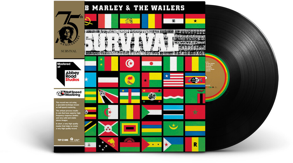 Bob Marley & The Wailers - Survival: Half-Speed Mastering [LP]