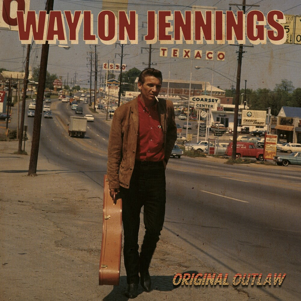 Waylon Jennings / Holly,Buddy - Original Outlaw (Tri-colored Red, White & Blue Vinyl)