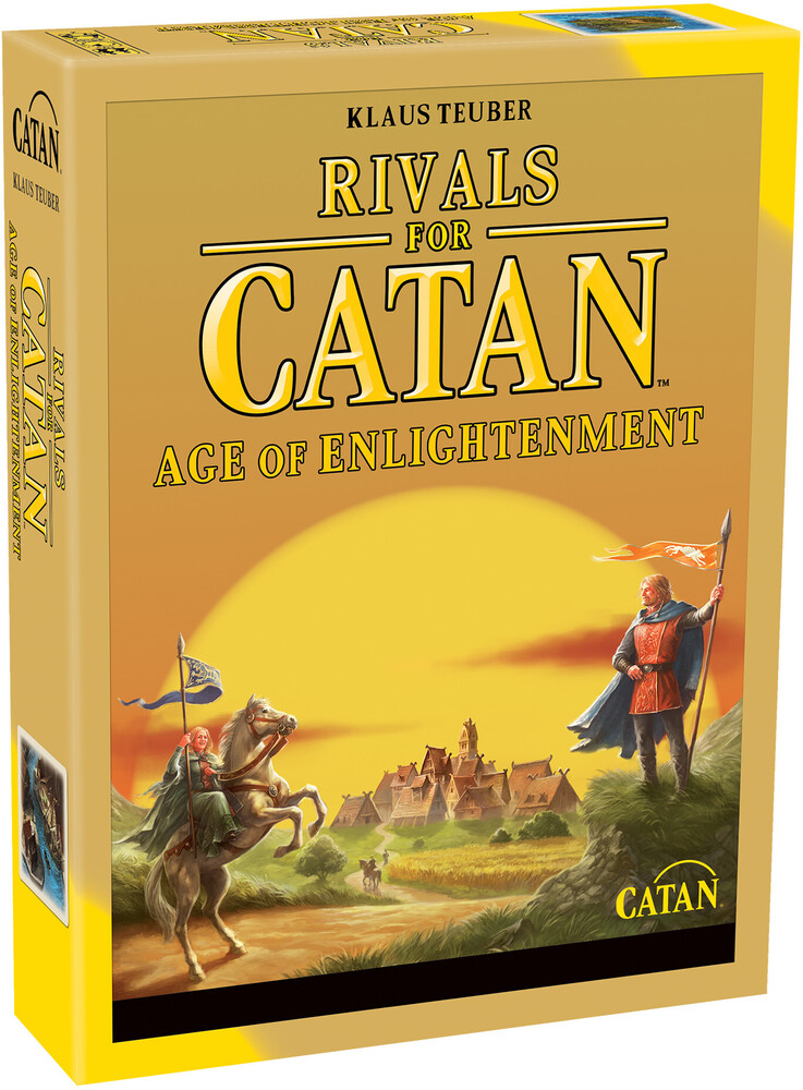 Rivals for Catan: Age of Enlightenment Revised - Rivals For Catan: Age Of Enlightenment Revised