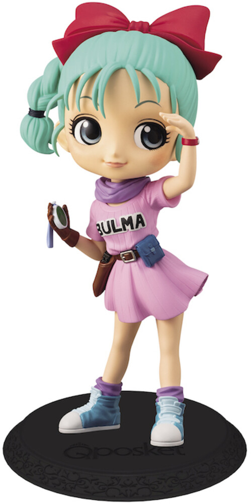 Banpresto - BanPresto - Dragon Ball Bulma Q posket Figure Version 1