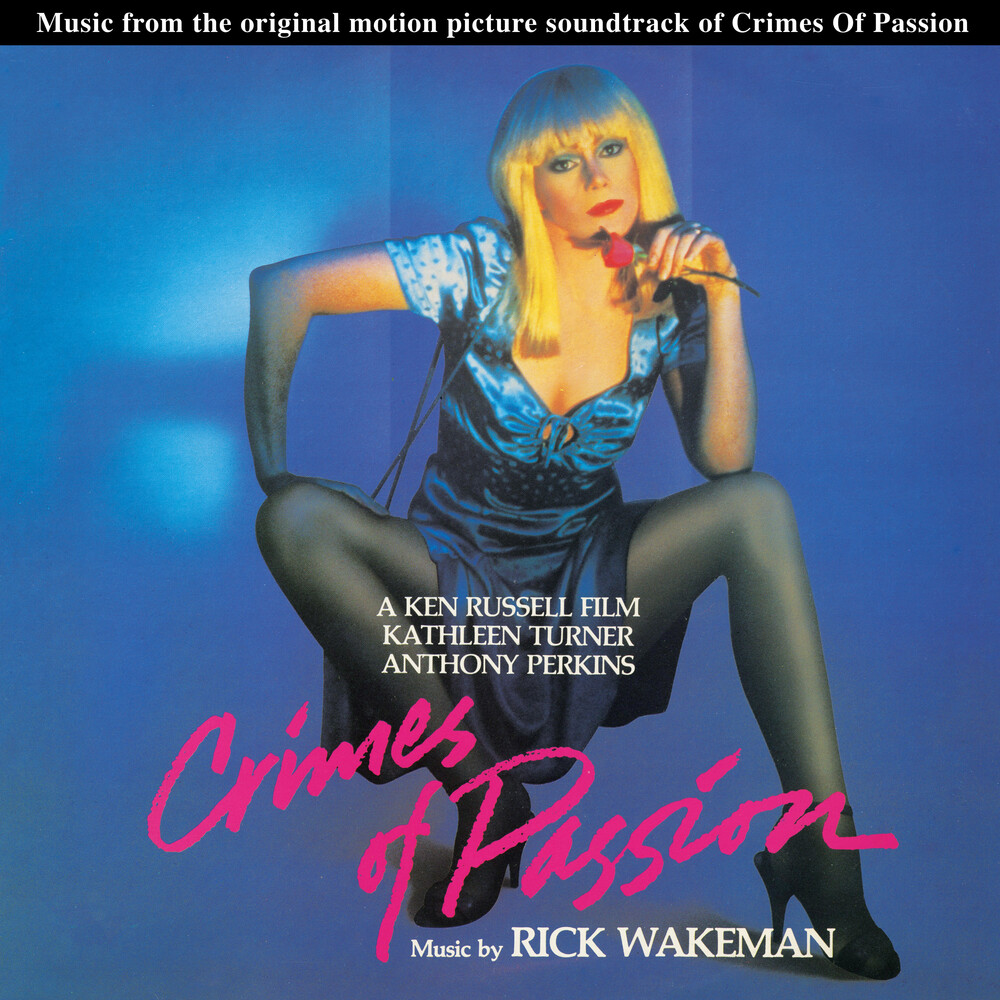 Rick Wakeman Colv Ltd Reis - Crimes Of Passion / O.S.T. [Colored Vinyl] [Limited Edition] [Reissue]