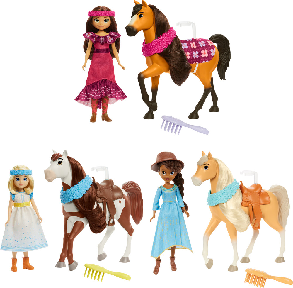 Spirit - Mattel - Spirit Festival Deluxe Doll & Horse Assortment