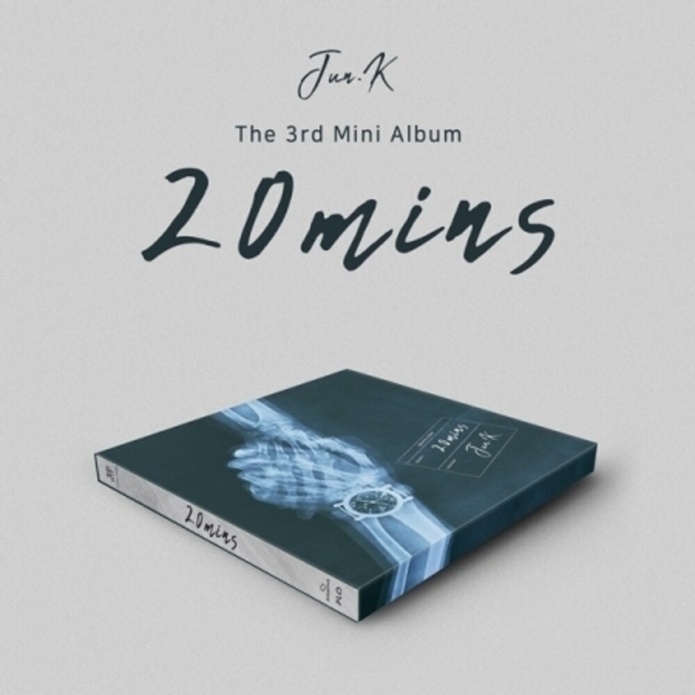 Jun K - 20 Mins (incl. 52pg Photobook, Film Photocard, 2pc Photocard +Postcard)