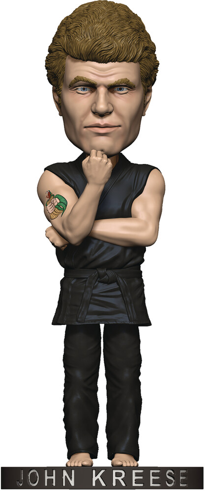 Icon Heroes - Icon Heroes - Karate Kid John Kreese Polystone Bobblehead