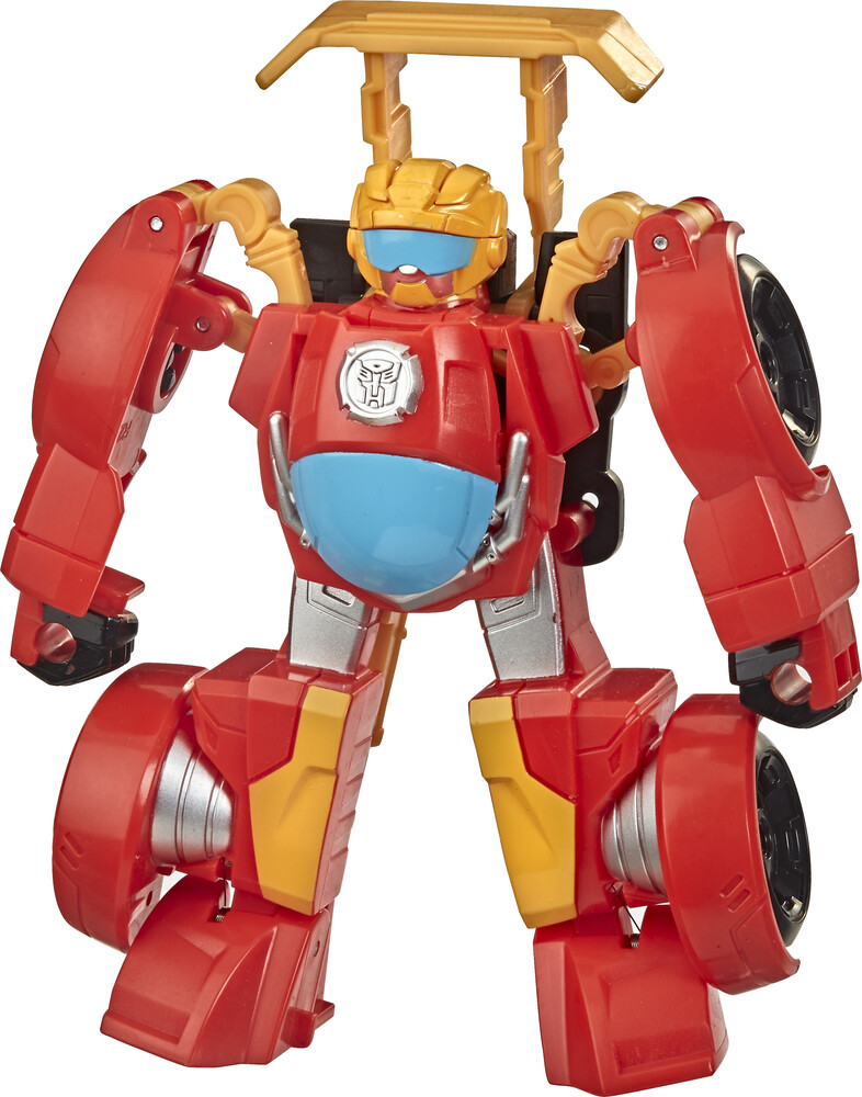 Tra Rescue Bots Acad. Rescan Hot Shot F1 - Hasbro Collectibles - Transformers Rescue Bots Academy Rescan Hot ShotF1