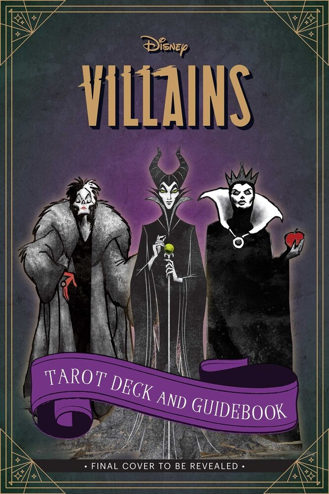 Siegel, Minerva - Disney Villains Tarot Deck and Guidebook