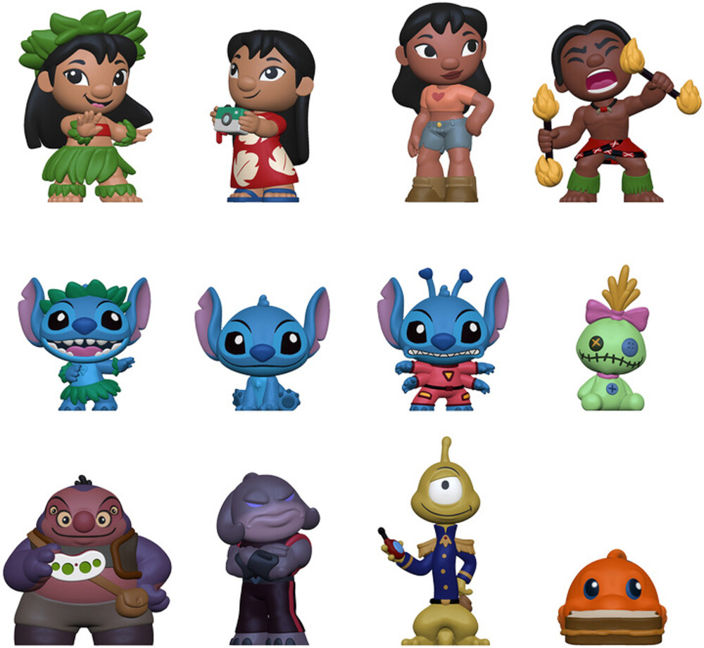 Funko Mystery Mini: - Lilo & Stitch