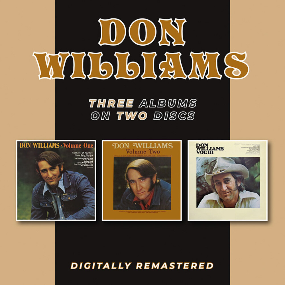 Don Williams - Volume One Two & Three (Uk)