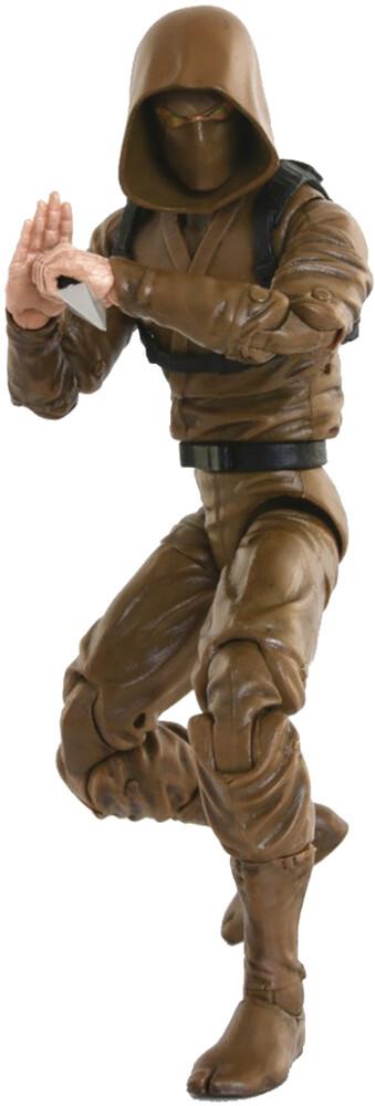 Fwoosh - FWOOSH - Articulated Icons Basic Ninja Brown 6 Action Figure (Net)