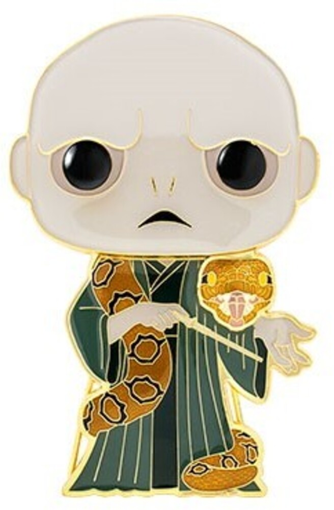 Funko Pop! Pins: - Harry Potter - Voldemort W/ Nagini (Vfig)