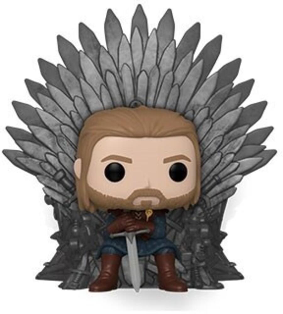 Funko Pop! Deluxe: - Game Of Thrones- Ned Stark On Throne (Vfig)