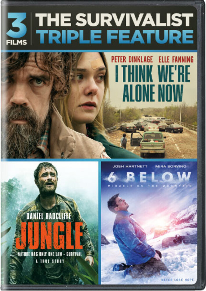- Survivalist Triple Feature (3pc) / (3pk)