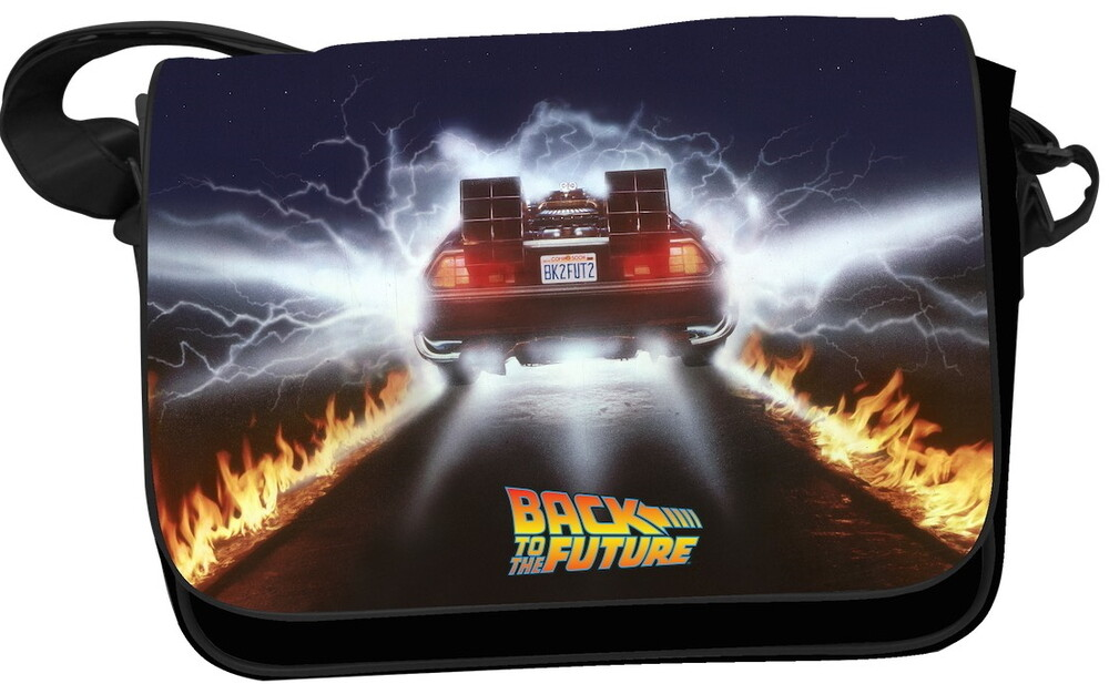 - Back To The Future Delorean Flame Trails Mailbag