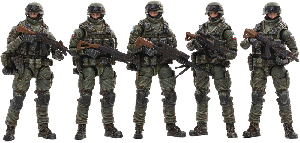 Dark Source Trading - Joy Toy Russian Naval Infantry 1/18 Figure 5pk