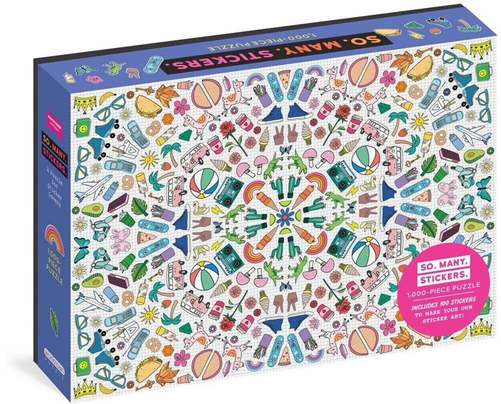 Pipsticks / Workman - So Many Stickers 1000 Piece Puzzle (Puzz) (Stic)