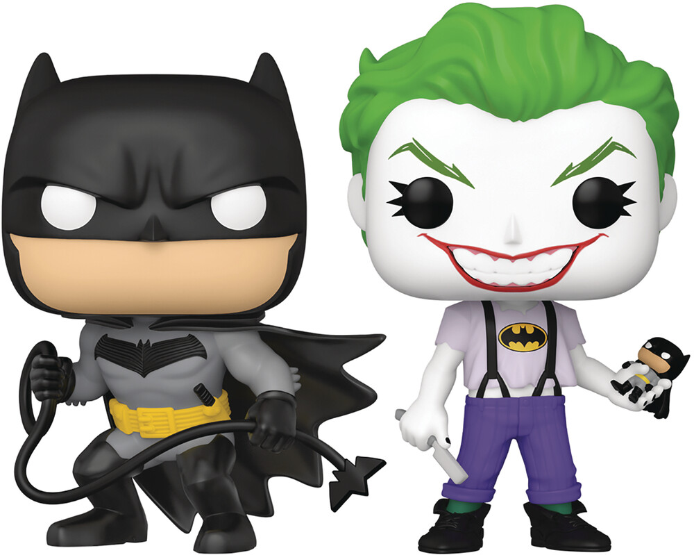Px Exclusive - Sdcc 2021 Pop Dc Batman White Knight Batman/Joker