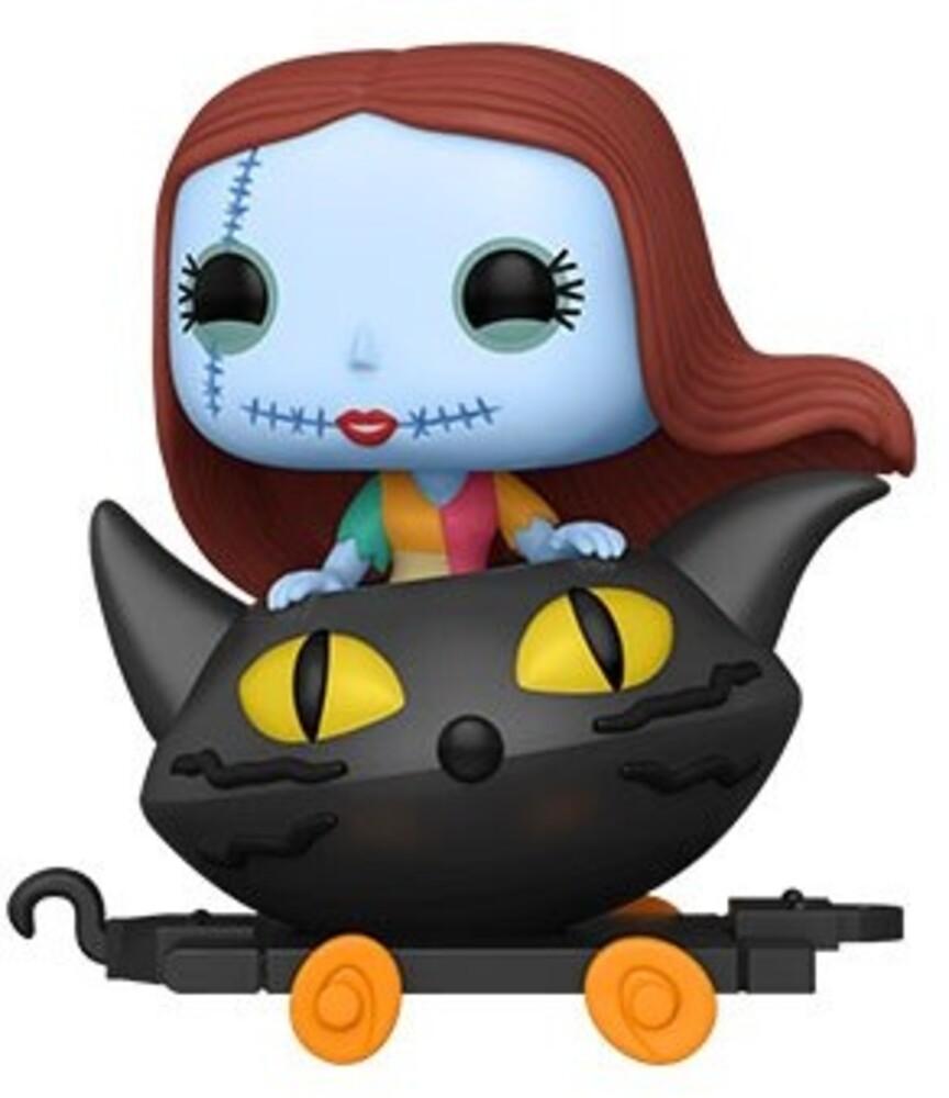- Nightmare Before Christmas- Sally In Cat Cart