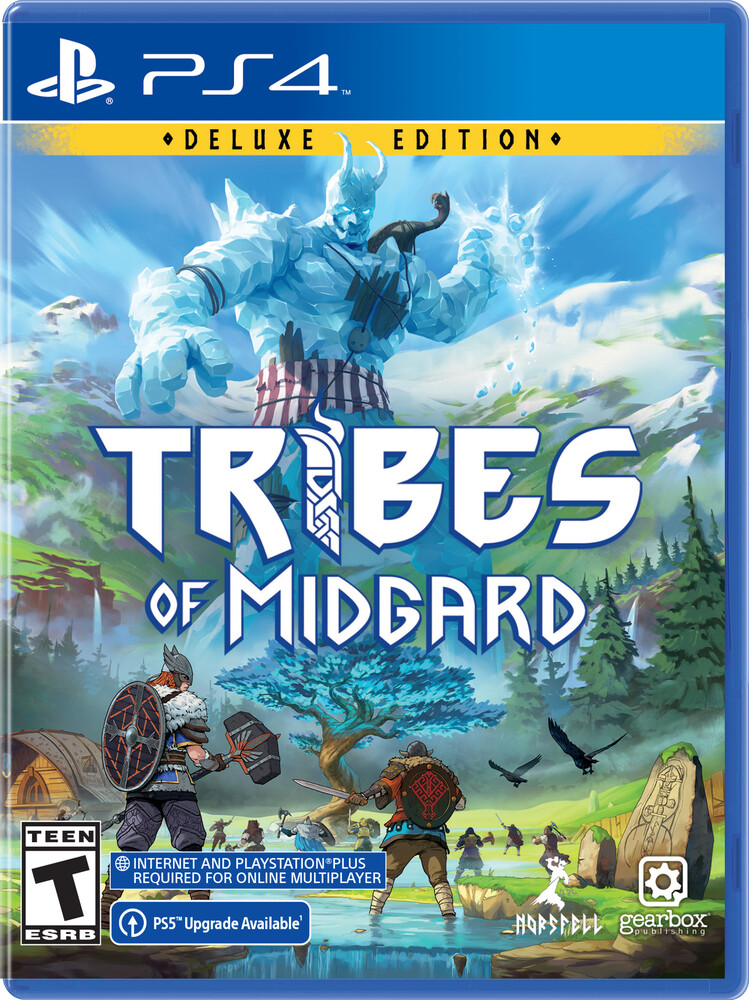 Ps4 Tribes of Midgard: Deluxe Ed - Ps4 Tribes Of Midgard: Deluxe Ed
