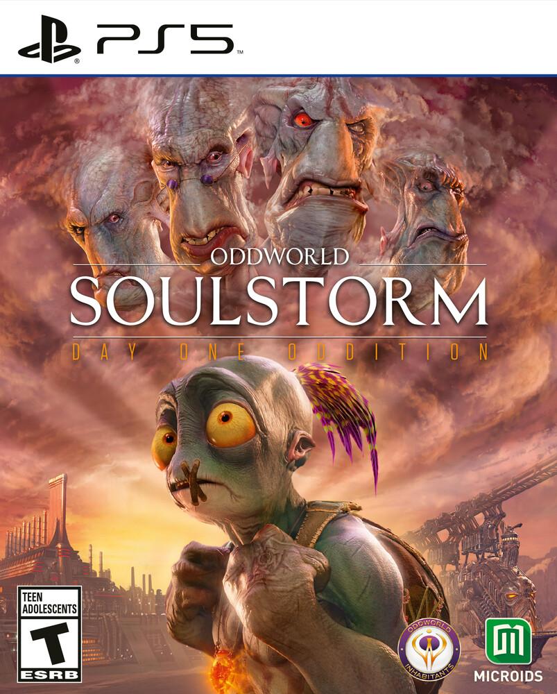 Ps5 Oddworld: Soulstorm - Standard Ed - Ps5 Oddworld: Soulstorm - Standard Ed