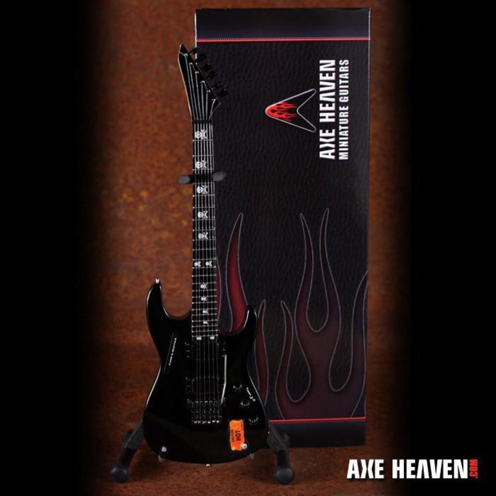 Kirk Hammett Metallica Caution Hot Mini Guitar - Kirk Hammett Metallica Caution Hot Mini Guitar