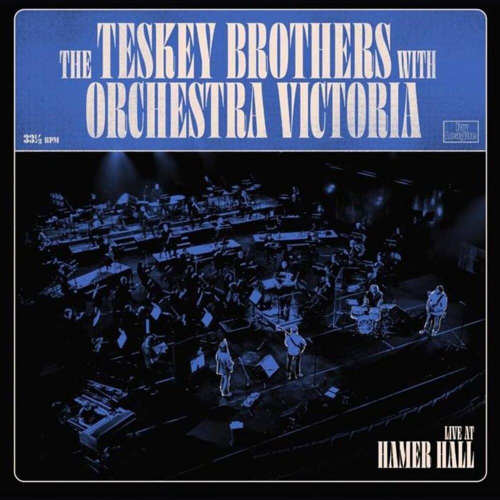 Teskey Brothers & Orchestra Victoria - Live At Hamer Hall (Blue) [Colored Vinyl] (Gate) [180 Gram]