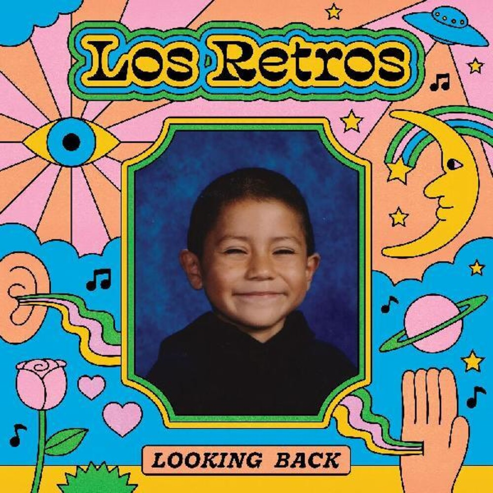 Los Retros - Looking Back [Colored Vinyl] (Grn) (Pnk) (Ylw) [Indie Exclusive]