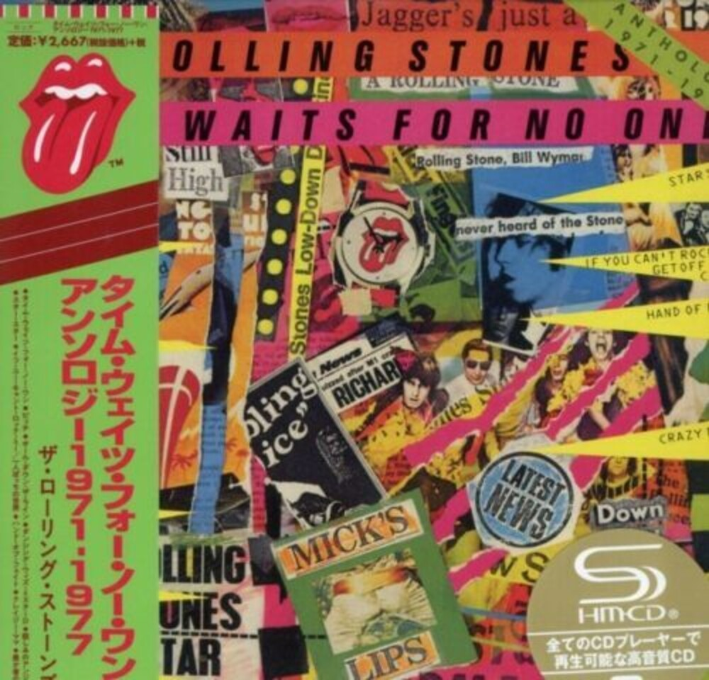 The Rolling Stones - Time Waits For No One: Anthology 1971-1977 (SHM-CD / Paper Sleeve /2009 Remastering) [Import]