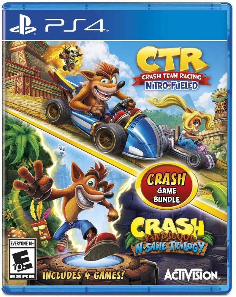 Ps4 Crash Bandicoot N.Sane Trilogy 2Pk - Crash Bandicoot N.Sane Trilogy 2pk
