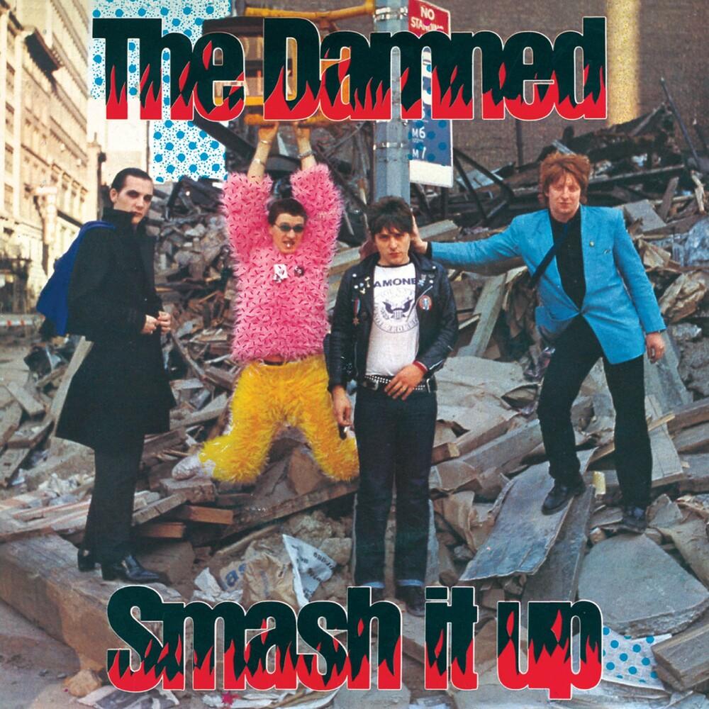 The Damned - Smash It Up B/W Burglar (Red Vinyl)