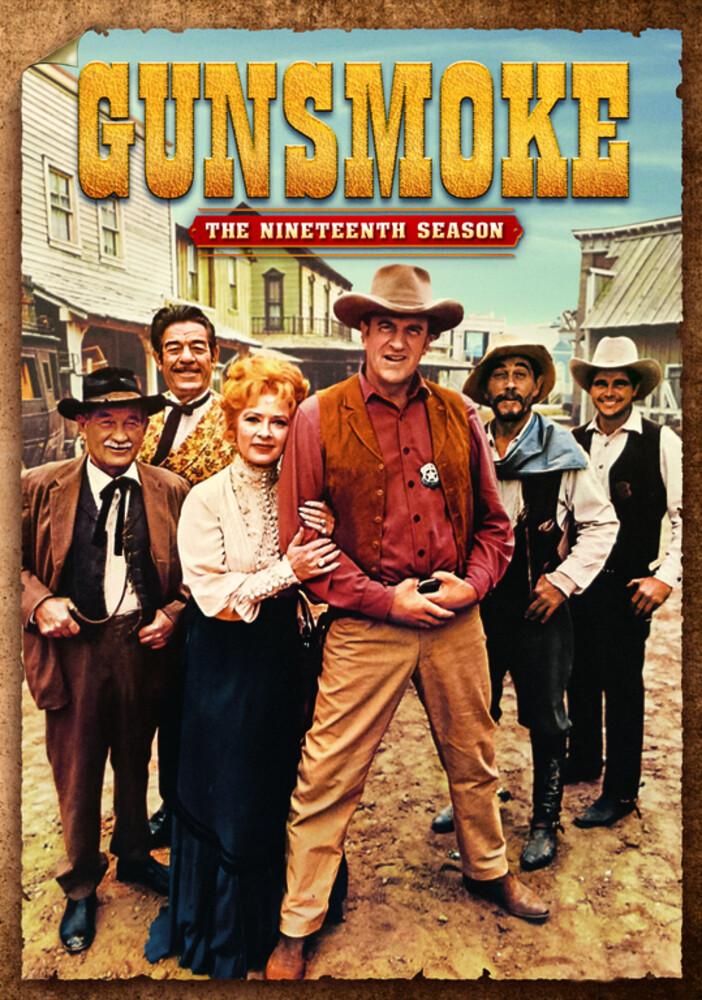 Gunsmoke: Complete Nineteenth Season - Gunsmoke: Complete Nineteenth Season (6pc) / (Box)