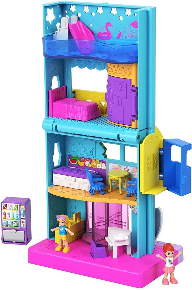 Polly Pocket - Mattel - Polly Pocket Pollyville Hotel