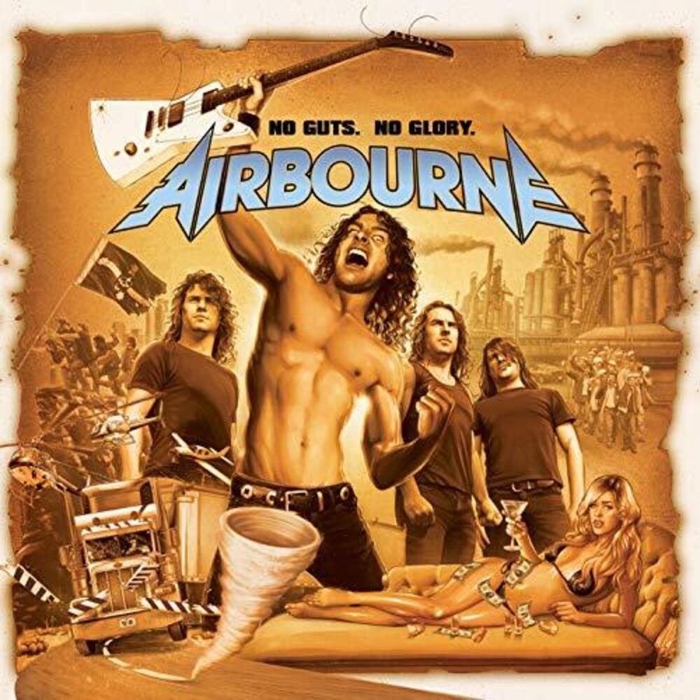 Airbourne - No Guts. No Glory [LP]