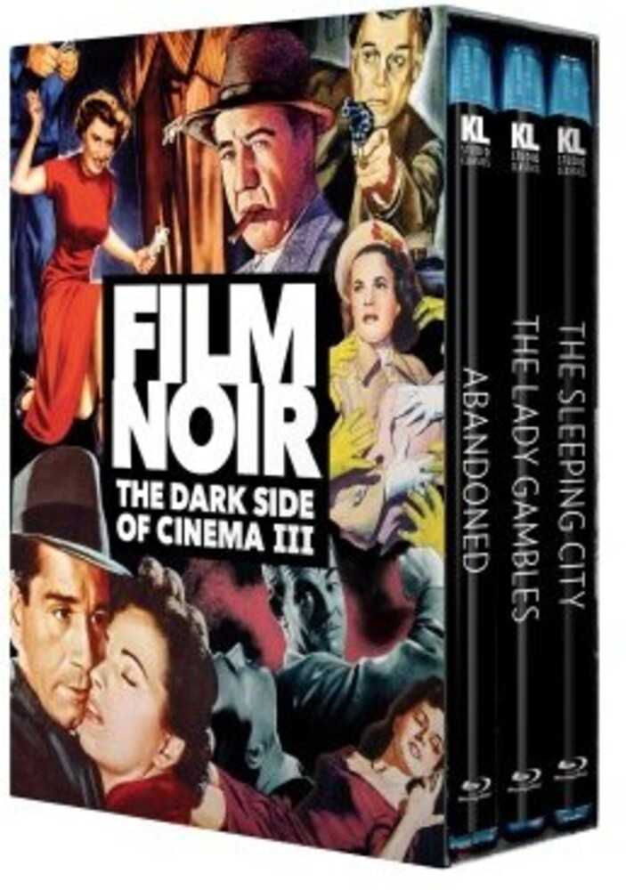 - Film Noir: Dark Side Of Cinema Iii (3pc)